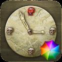Skulls Clock Widget icon