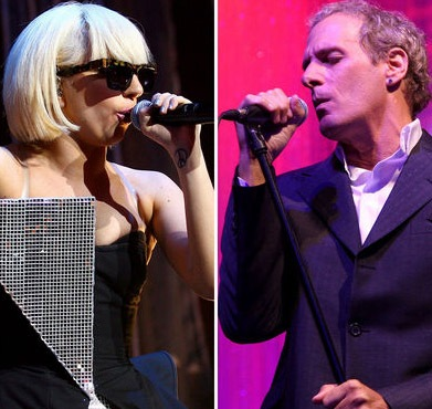 Lady Gaga/Michael Bolton via chinadaily.com