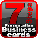 Business Cards in 7 Steps icon