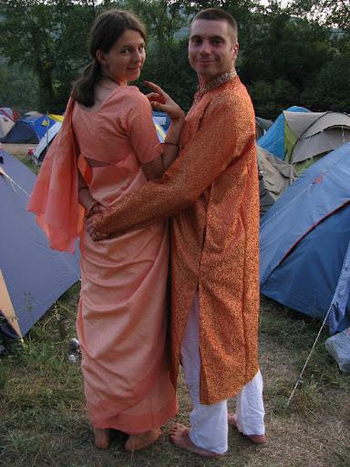 indiai ruhában