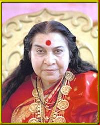 Shri Mataji tükörkép