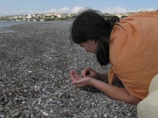 haiku a tengerparti kavicsokról