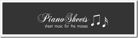 Pianosheets 2
