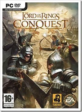 LOTR Conquest cover