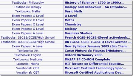 free the textbooks screenshot
