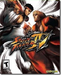 street fighter 4 cover screen