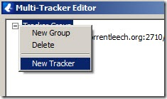 Vuze tracker editor