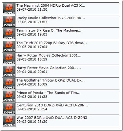 D-Zon3 releases