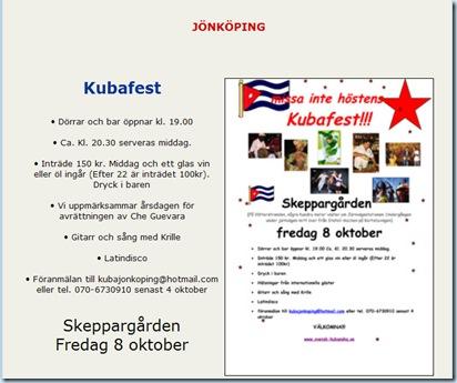 Jönköping svensk kubans förening