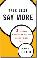 Talk Less, Say More