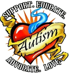 Autism: Support. Educate. Adovcate. Love.