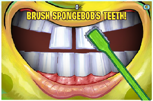 spongebob brush 2