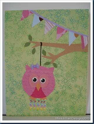 Owl Pinata - Front