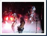 Last song of the show, 'Bad Romance'