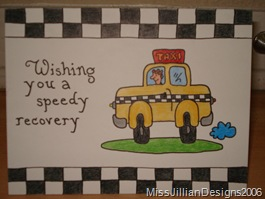 Get well card - front - 2006