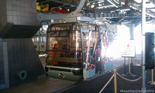 Eagle Bahn gondola lift taken by my love