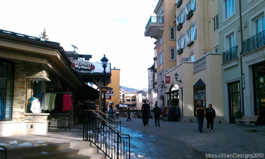 shops in Lionshead Vail Square taken by my love