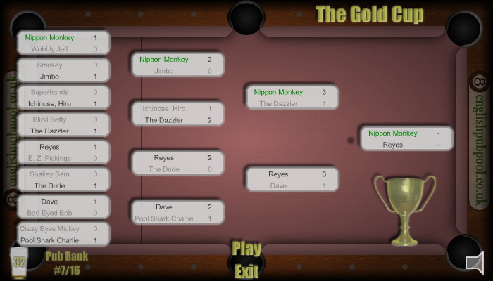 American 8-Ball Pool - Play Pool Tournaments Against the Computer Online