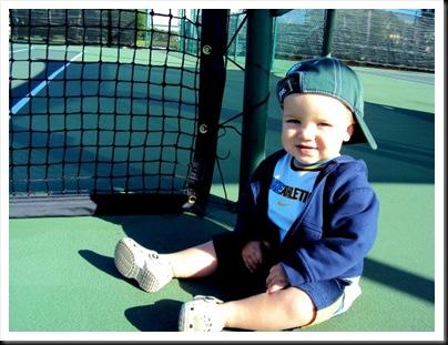 tristan on tennis court