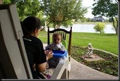 back porch breakfast