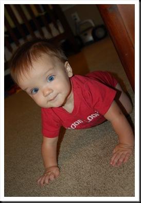 crawling cutie