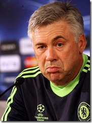 Carlo Ancelotti in Moscow