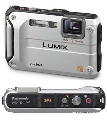 Panasonic Lumix DMC TS3 gps enabled