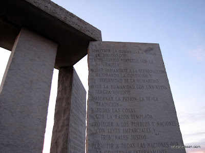 Spanish Guidestones