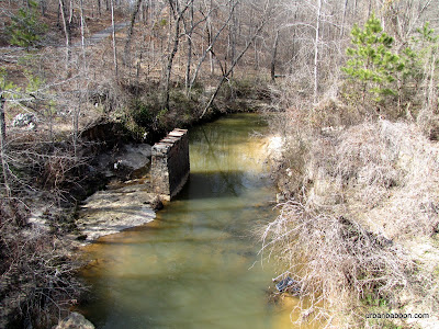 Ivy Creek and Bridge Ruins