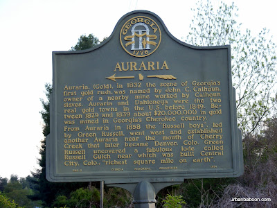 Auraria's Historical Marker