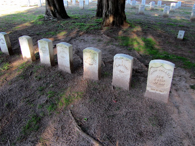 The First Gravesites at Andersonville