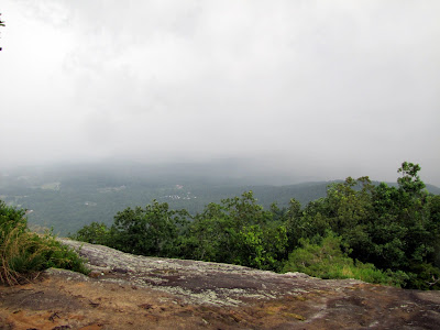 View from atop the granite face of Yonah