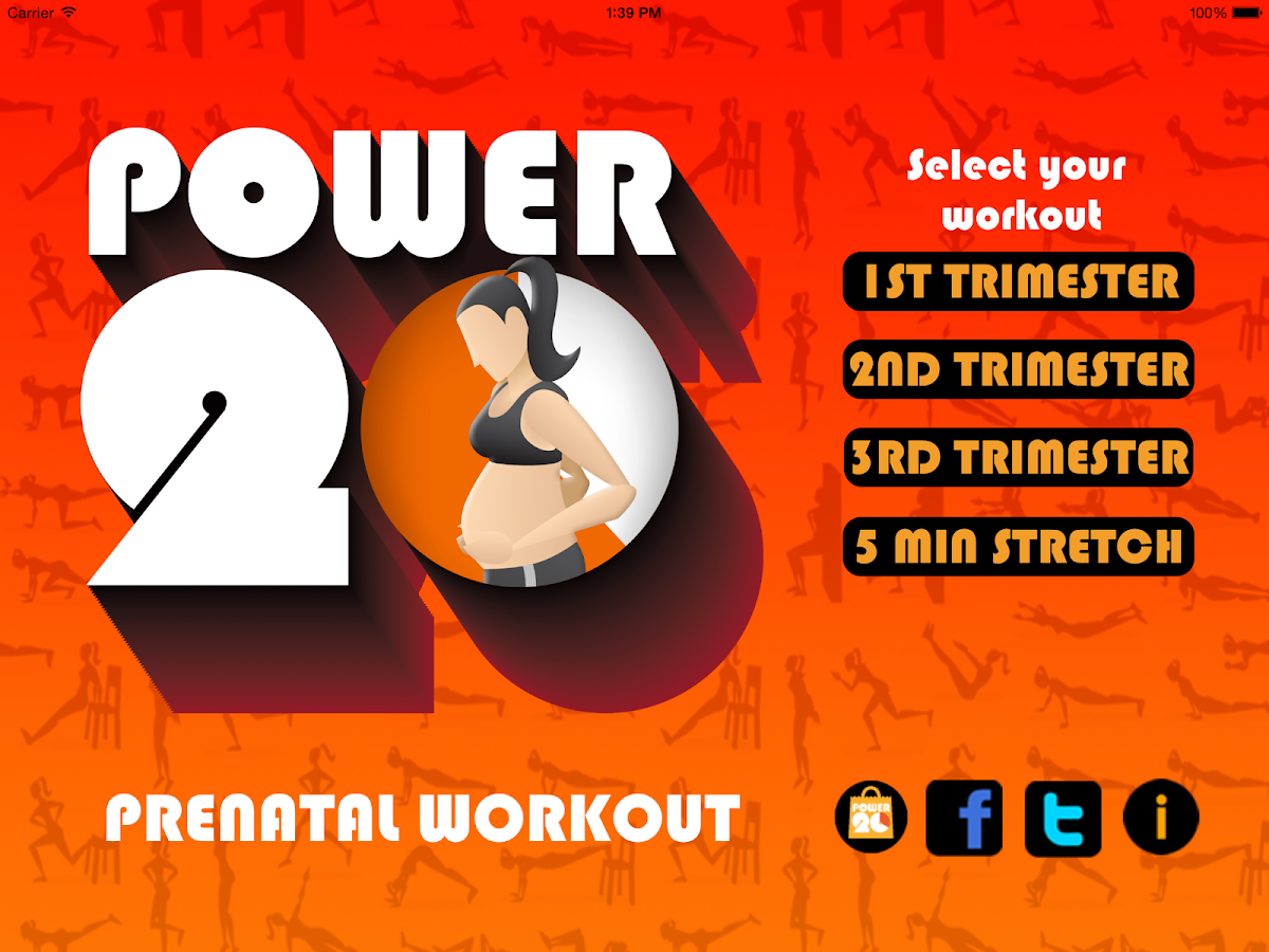 Pregnancy Workouts by Power 20 Screenshot 12