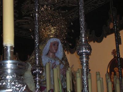 Ntra.Sra de la Amargura. Foto cedida por Pozoblanco News, las noticias y la actualidad de Pozoblanco (Córdoba)* www.pozoblanconews.blogspot.com