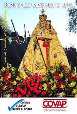 Cartel anunciador de las fiestas de la Virgen de Luna 2010, patrona de Pozoblanco. Web de la Banda Municipal de Música de Pozoblanco (Córdoba)* www.bandamunicipaldepozoblanco.blogspot.com