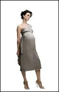 traje de boda embarazada nueve
