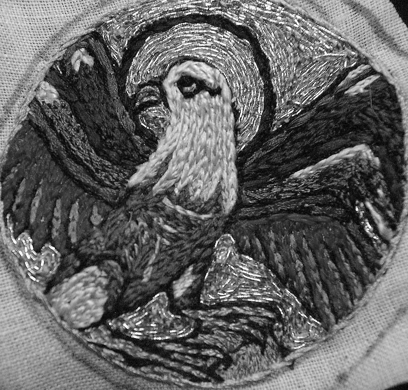 Broderie à appliquer, XIème siècle SG1L5792
