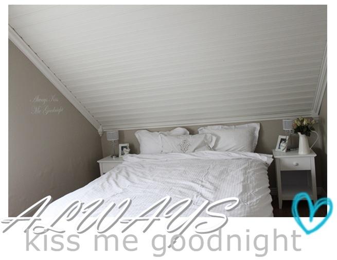 always kiss med goodnight (blogg)