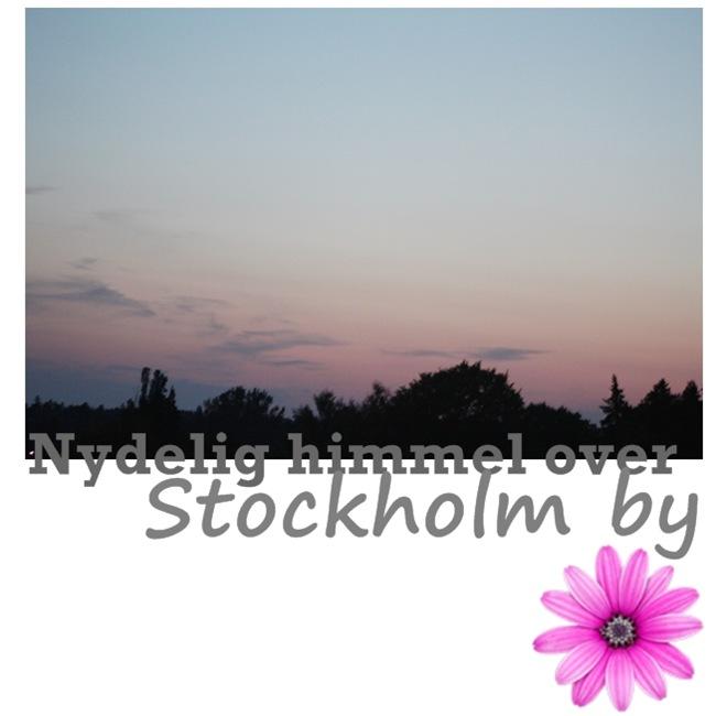 nydelig himmel over stockholm by