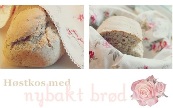 høstkos med nybakt brød1