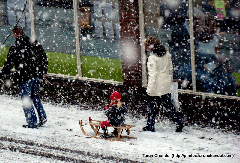 Snow Winters Snowfall Dutch Family Holland Kids Parents Netherlands Family, Tarun Chandel Photoblog