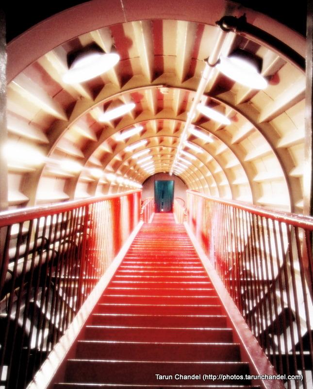 Atomium Staircase View Brussels Belgium, Tarun Chandel Photoblog