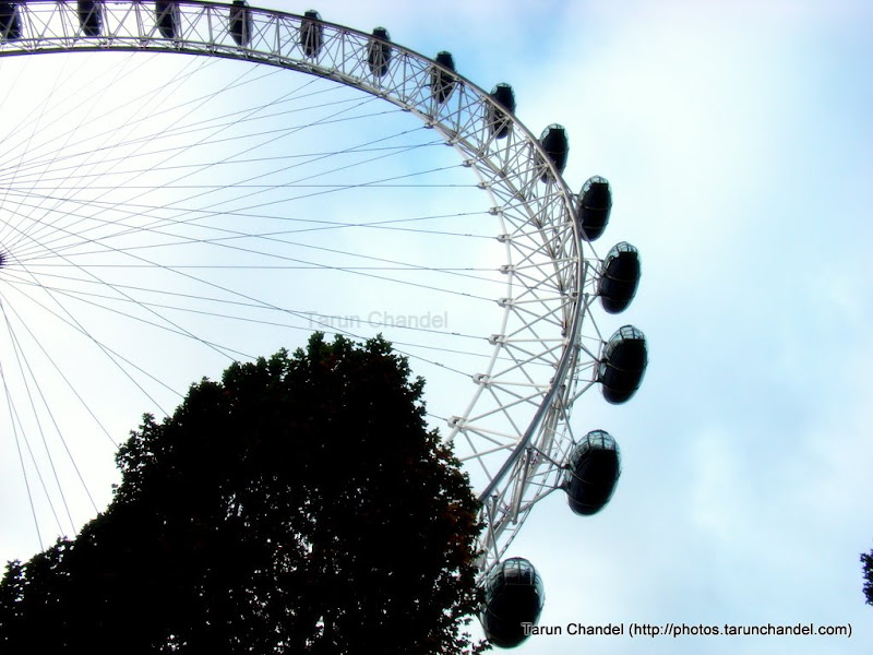 Half a London Eye, Tarun Chandel Photoblog
