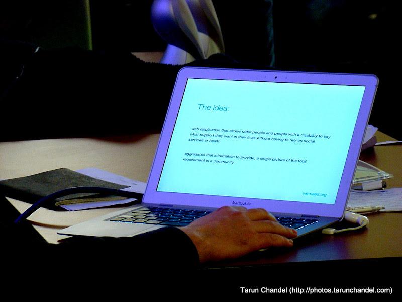 Social Innovation Camp London: We Need, Tarun Chandel Photoblog