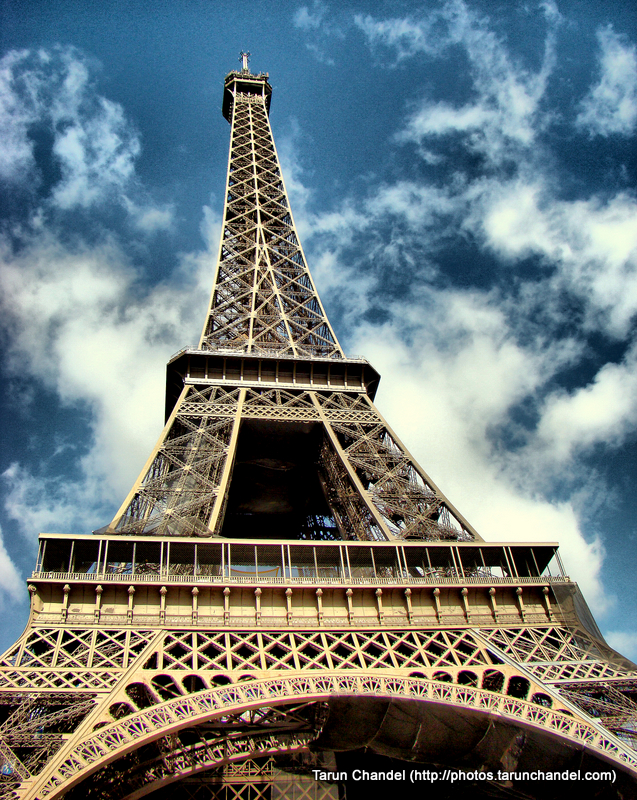 Eiffel Tower Paris France, Tarun Chandel Photoblog