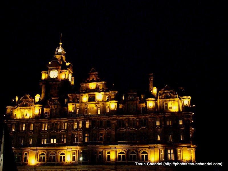 Edinburgh at Night, Tarun Chandel Photoblog