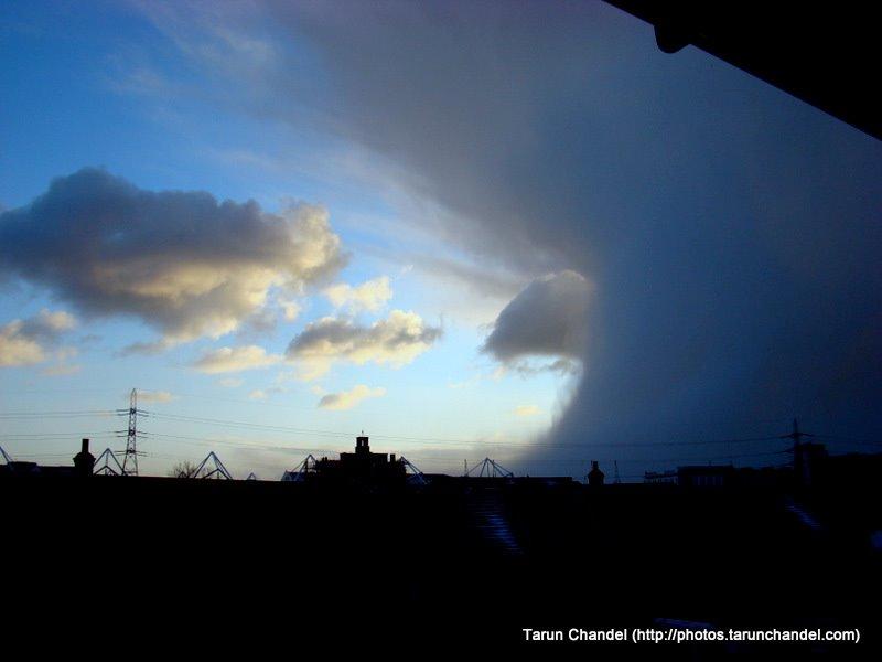London Snow Clouds, Tarun Chandel Photoblog
