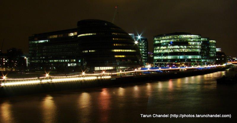 Thames Riverside Night, Tarun Chandel Photoblog