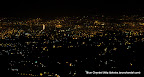 Dehradun Lights from Mussoorie at night, Tarun Chandel Photoblog