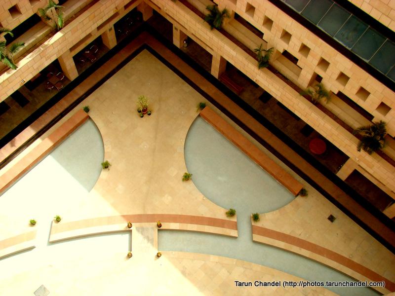Academic Block Shopping Area ISB Indian School of Business Hyderabad, Tarun Chandel Photoblog